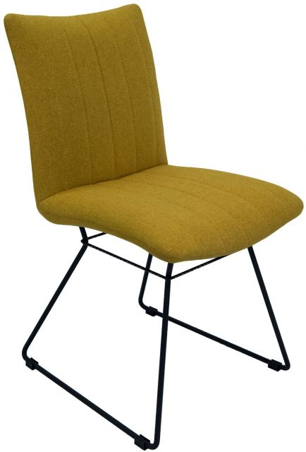 Set Of 2 Mila Dining Chair - Saffron