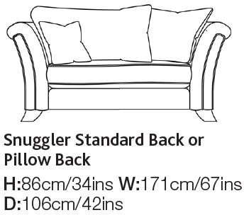 Lemington Collection Snuggler Chair
