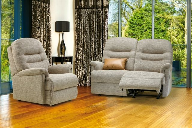Keswick Collection Small Rechargeable Powered Recliner - FABRIC 1