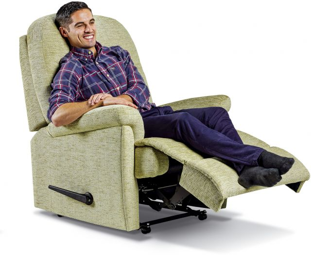 Keswick Collection Royale Rechargeable Powered Recliner - FABRIC 1