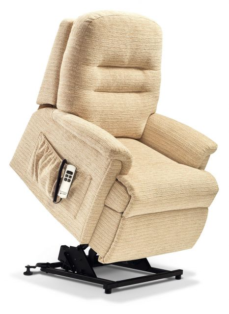 Keswick Collection Petite 2-motor Electric Riser Recliner - FABRIC 1