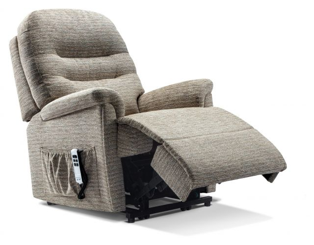 Keswick Collection Small 2-motor Electric Riser Recliner - FABRIC 1