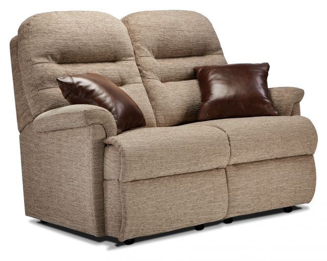 Keswick Collection Small Fixed 2-seater - FABRIC 1