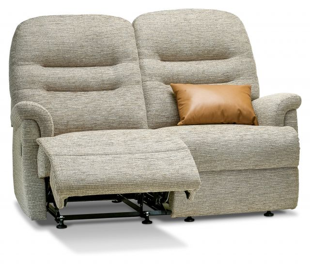Keswick Collection Petite Rechargeable Powered Reclining 2-seater - FABRIC 1