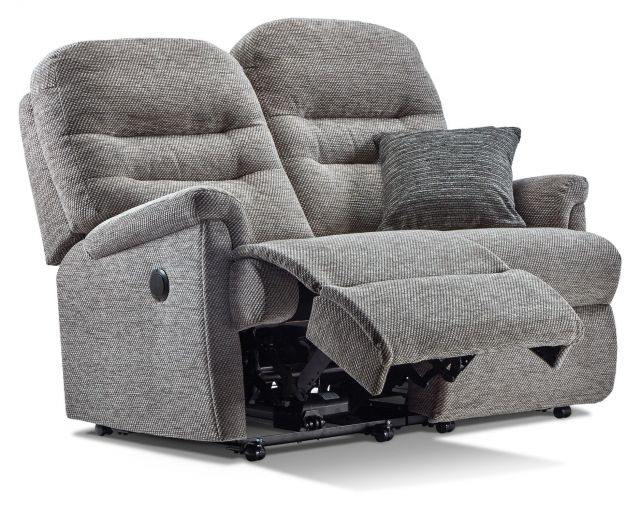 Keswick Collection Small Rechargeable Powered Reclining 2-seater - FABRIC 1