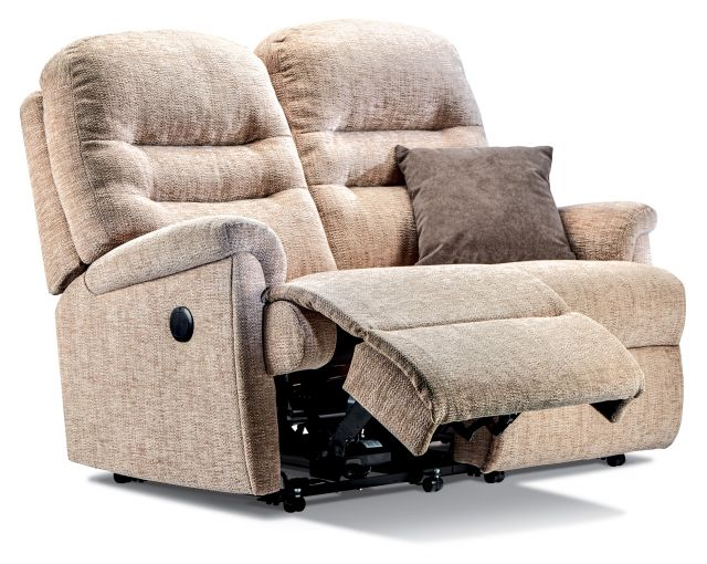 Keswick Collection Standard Rechargeable Powered Reclining 2-seater - FABRIC 1