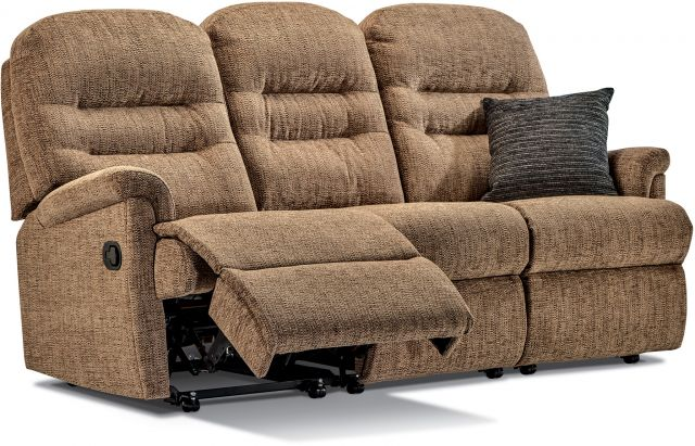 Keswick Collection Small Rechargeable Powered Reclining 3-seater - FABRIC 1