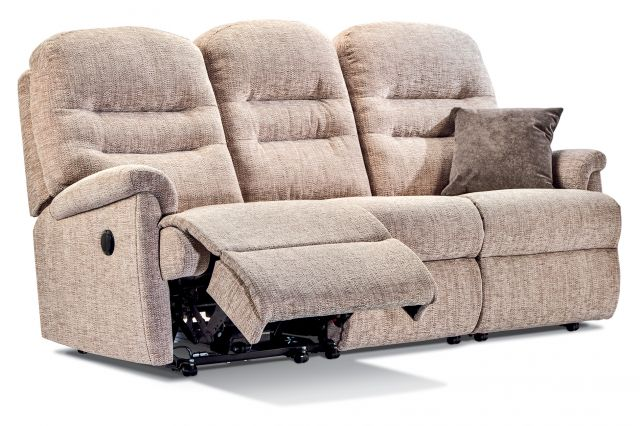 Keswick Collection Standard  Rechargeable Powered Reclining 3-seater - FABRIC 1