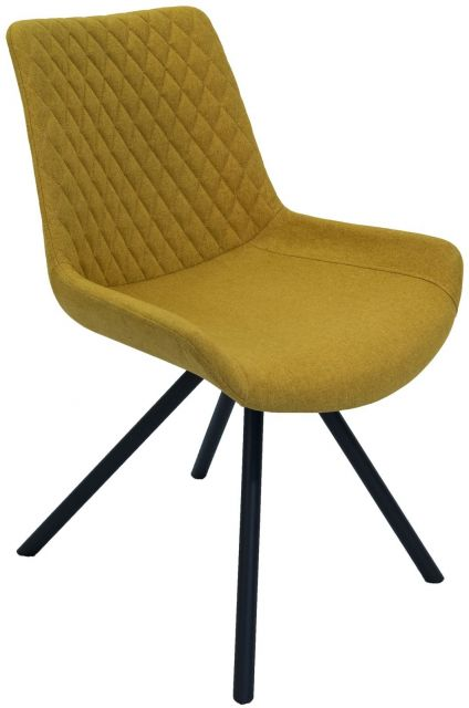Set Of 2 Piper Dining Chair - Saffron