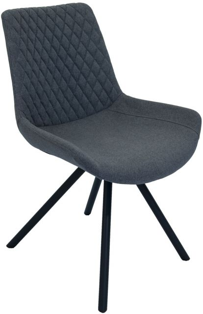 Set Of 2 Piper Dining Chair - Shadow Grey