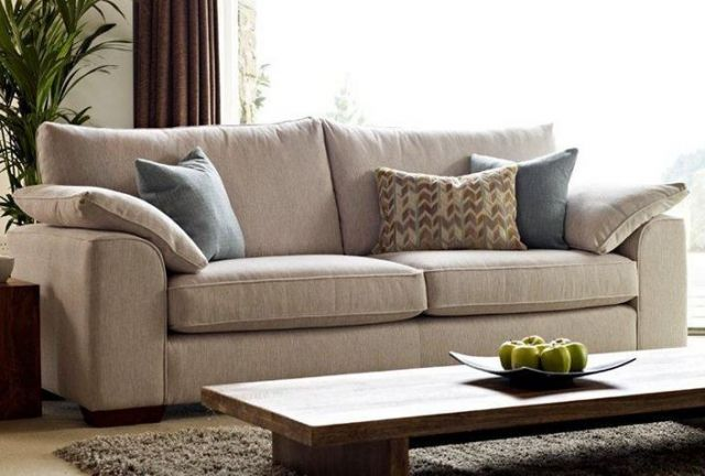 Vancouver Collection Extra Large Settee H2 Fabric FOAM TOPPER SEAT INTERIORS