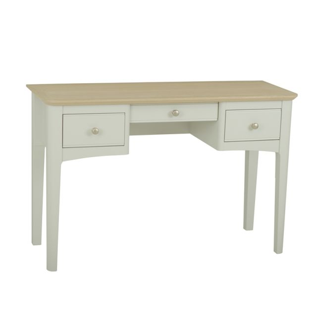 Aria Bedroom Collection Dressing Table Morning Dew/Haze Oil Top