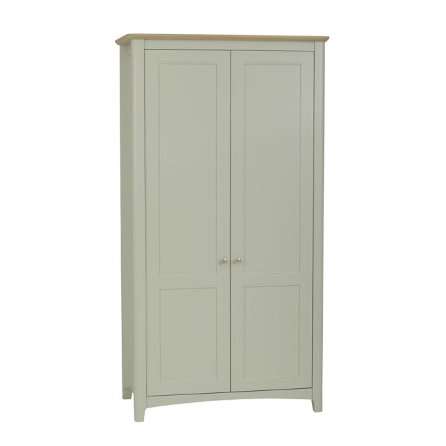 Aria Bedroom Collection All Hanging Wardrobe Morning Dew/Haze Oil Top
