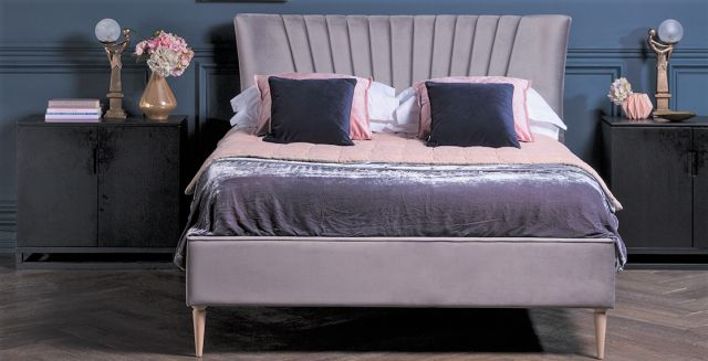Lucille Bedframe Collection 135cm Bed / Elegance Fabric