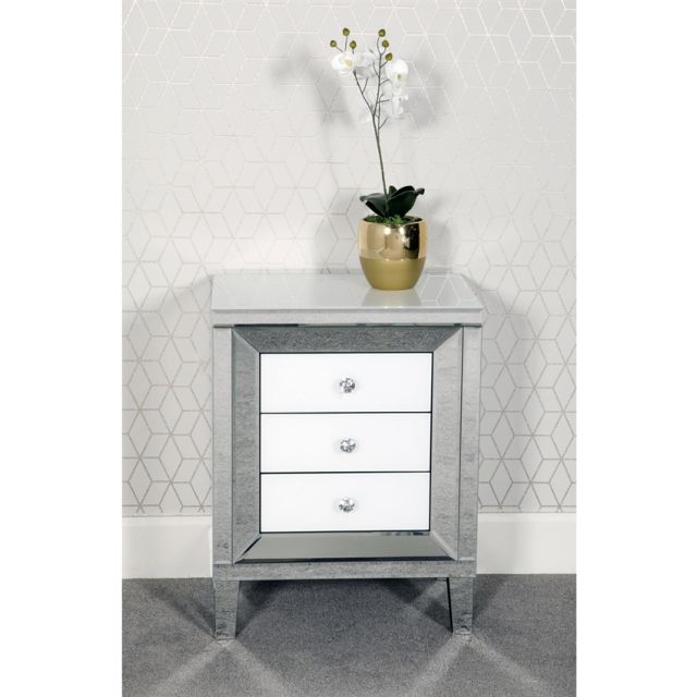 Chicque Bedroom Collection 3 Drawer Chest