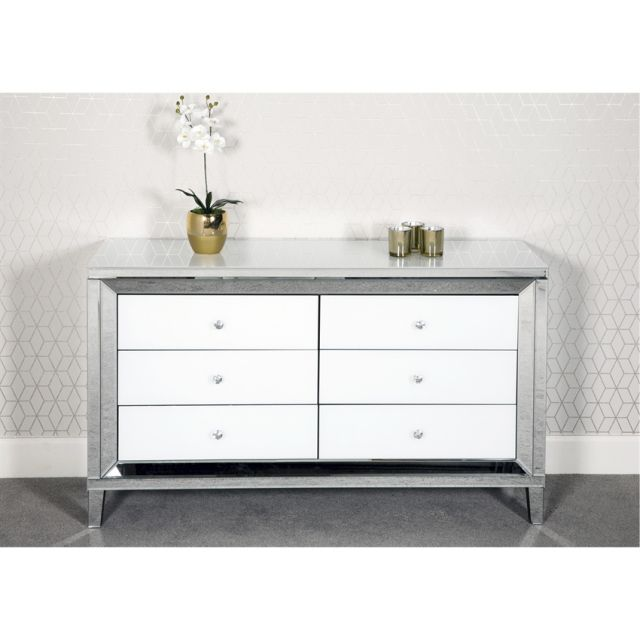 Chicque Bedroom Collection 6 Drawer Chest