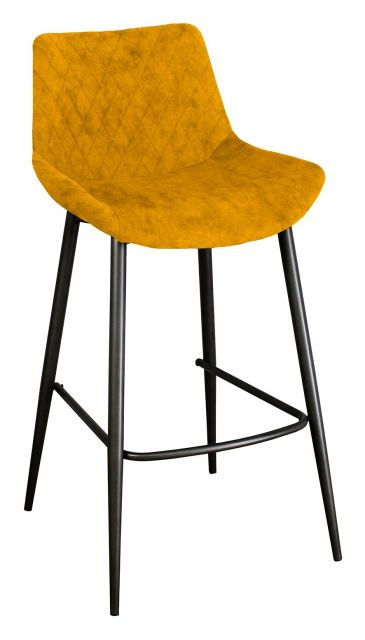 Piper Collection Set Of 2 Piper Barstool - Saffron