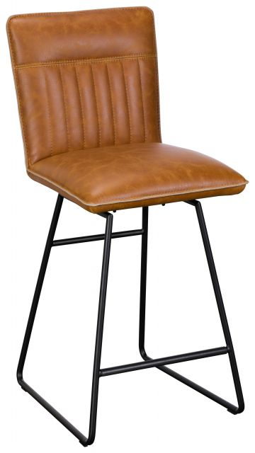 Greatford Dining Collection Vintage Bar Stool Tan