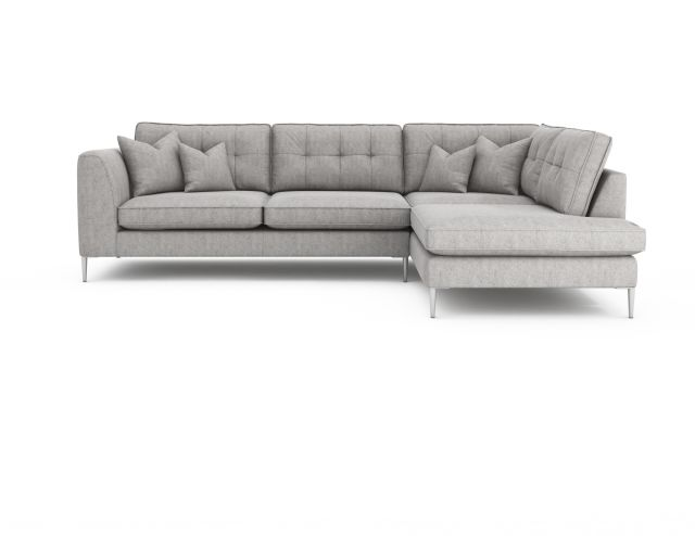 Fenton Sofa Collection Large Chaise Sofa (Left Hand Facing Arm & Right Hand Facing Chaise) Grade B F