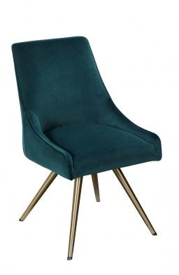 Trovey Dining Collection Dining Chair Teal