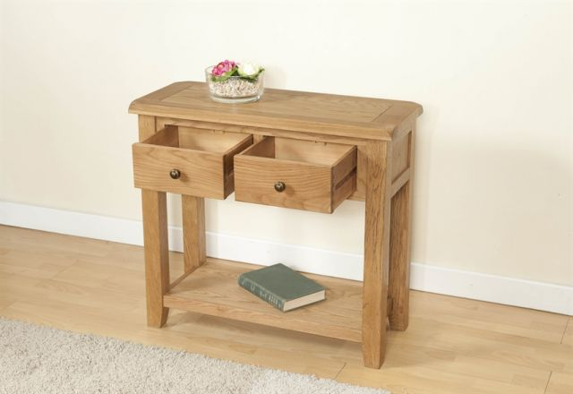 Stowell Dining Collection 2 Drawer Console Table