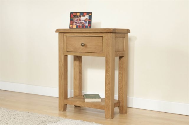 Stowell Dining Collection Small Console with 1 Drawer