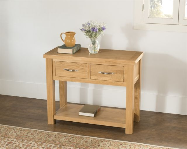 Portland Collection 2 Drawer Console Table