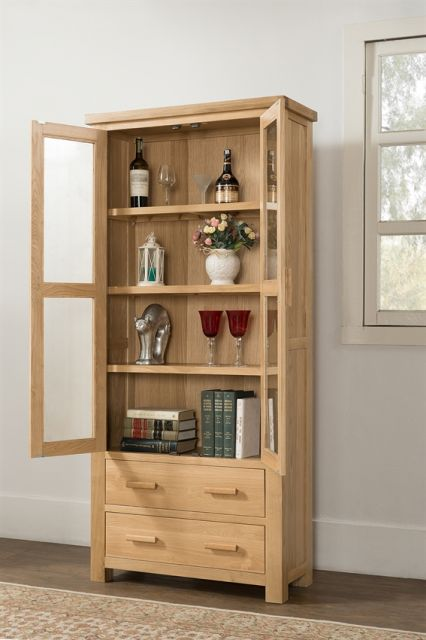 Portland Collection Large Display Cabinet
