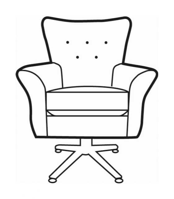 Martello Collection Swivel Chair SE
