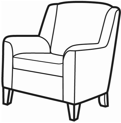 Martello Collection Accent Chair SE