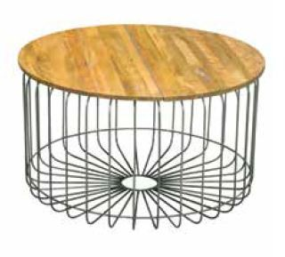 Stylebook Collection Birdcage Round Coffee Table