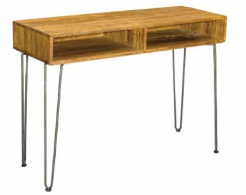 Stylebook Collection Retro Hairpin Console Table