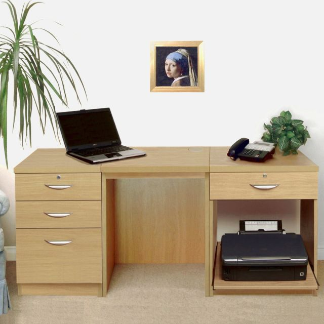 Home Office Collection Set-08: B-3CU B-DLK B-PSD
