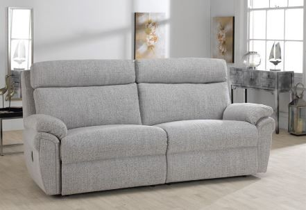 Cologne Collection 3 Seater Static Split Settee ; Fabric