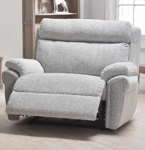 Cologne Collection Powered Recliner Loveseat ; Fixed Headrest ; Fabric