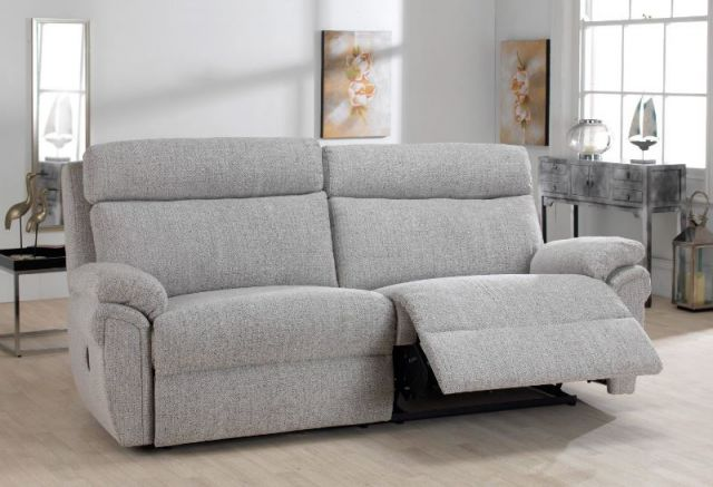 2 Seater Power Recliner Settee ; Power Headrest ; Fabric