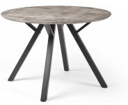 Dakota Collection Round Dining Table