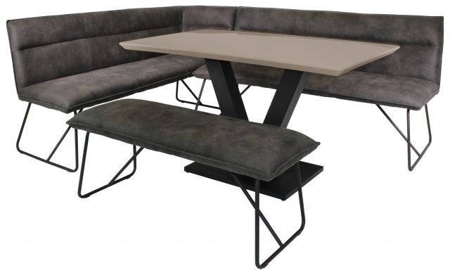 Gratton Collection Dining Table Cappuccino Gloss