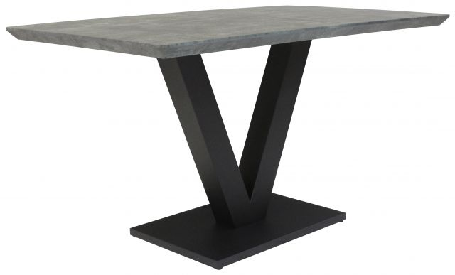 Gratton Collection Dining Table Tetro Finish 135c