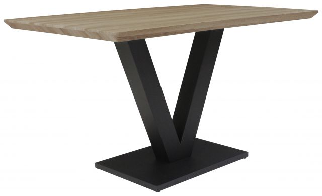 Gratton Collection Dining Table Delta Finish 135c