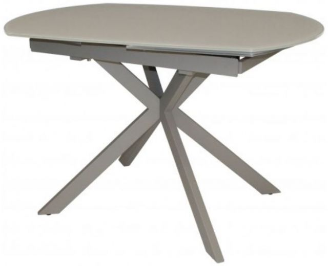 Star Collection Motion Dining Table - Cappuccino