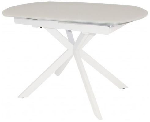 Star Collection Motion Dining Table - White