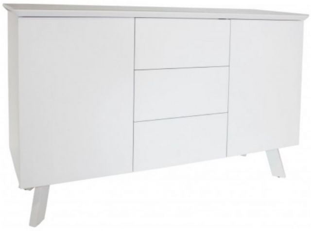 Star Collection Large Sideboard - White