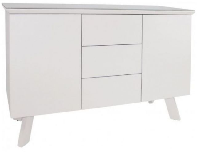 Star Collection Small Sideboard - White