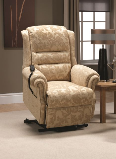 Langfield Sofa Collection Recliner (Lift & Rise) Standard 2