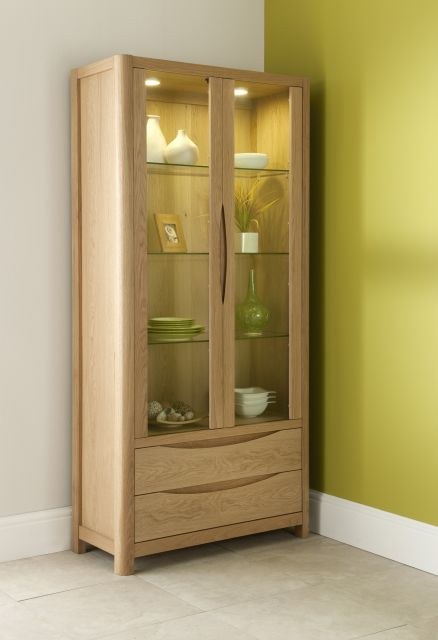 Braemer Dining Collection Tall Display Cabinet