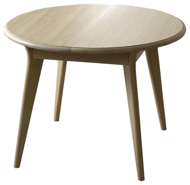 Braemer Dining Collection Small Round Extending Diniing Table