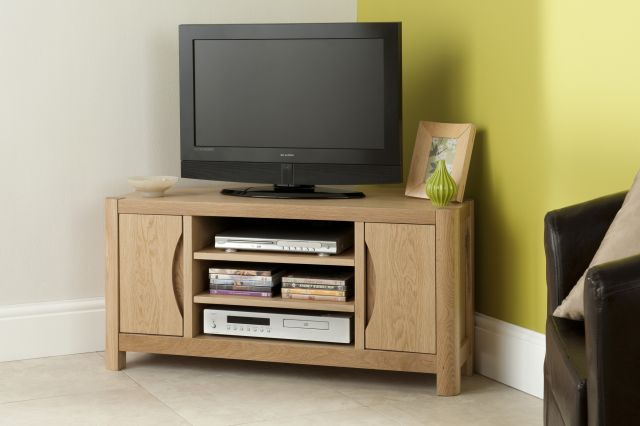 Braemer Dining Collection Corner TV Cabinet