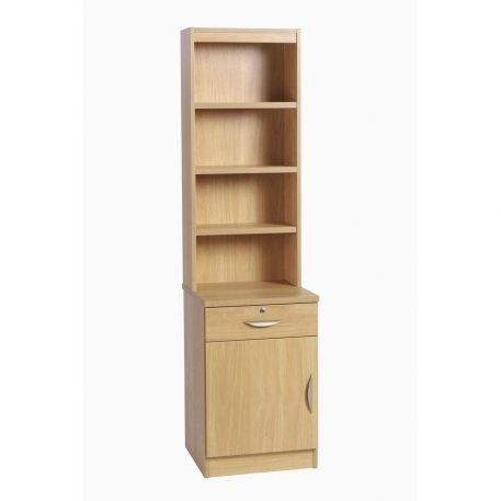 Home Office Collection Cupboard Drawer Unit LH With O