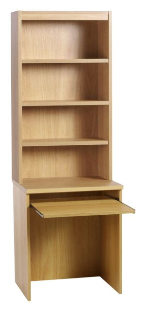 Home Office Collection B-DLK With Slide-out Shelf And Hutch
